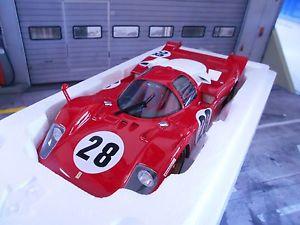 【送料無料】模型車 モデルカー スポーツカーフェラーリ#レーシングデイトナアンドレッティferrari 512s 512 s 28 racing 24h daytona 1970 andretti merzario cmr resin 118