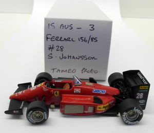 【送料無料】模型車 モデルカー スポーツカースケールキットフェラーリ#ヨハンソンtameo 143 scale built kit 15aug3 ferrari 15685 28 s johansson