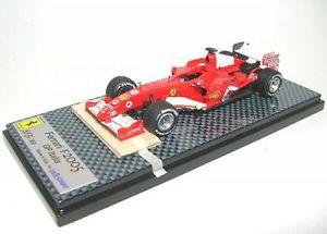 【送料無料】模型車 モデルカー スポーツカーフェラーリミハエルシューマッハグランプリイタリアferrari f2005 1 michael schumacher gp italy formula 1 2005
