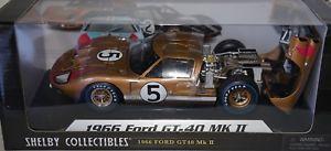 【送料無料】模型車 モデルカー スポーツカーグッズスケールミニチュアフォード#shelby collectibles 118 scale miniature c4496 1966 ford gt40 mk2 5 in