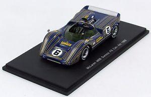 【送料無料】模型車 モデルカー スポーツカーマクラーレン#スパークmclaren m6b sunoco 6 canam 1968 n s1111 143 spark