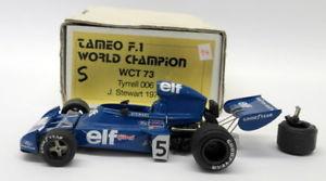 【送料無料】模型車 モデルカー スポーツカースケールキットティレルドイツスチュワートtameo 143 scale kit wct73 tyrrell 006 german gp 1973 j stewart