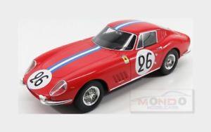 【送料無料】模型車 モデルカー スポーツカーフェラーリ#ルマンブルボンferrari 275 gtb nart 26 le mans 1966 biscaldi bourbon parme cmr 118 cmr037 mod