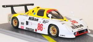 【送料無料】模型車 モデルカー スポーツカースケールモデルカーマツダ#bizarre 143 scale resin model car bz137 mazda 737c 86 lm 1985 19th
