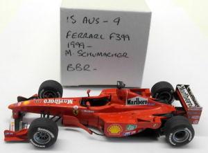 【送料無料】模型車 モデルカー スポーツカースケールキットフェラーリシューマッハ#bbr 143 scale built kit 15aug9 ferrari f399 1999 m schumacher 3