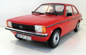 【送料無料】模型車 モデルカー スポーツカートリプルスケールオペルドアレッドtriple9 118 scale resin tp1800122 opel kadett c2 4 door 1977 red
