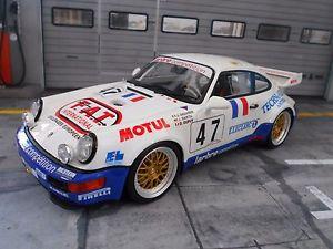 【送料無料】模型車 モデルカー スポーツカーポルシェルマン#porsche 911 964 rsr gt2 1993 le mans fat 47 dupuy barth g gt spirit resin 118