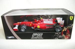 【送料無料】模型車 モデルカー スポーツカーフェラーリアロンソバーレーンferrari f10 8 falonso bahrain gp 2010