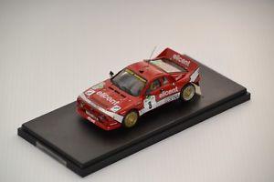【送料無料】模型車 モデルカー スポーツカーランチアラリーウール143 lancia 037 elicent bossini rally wool 1986