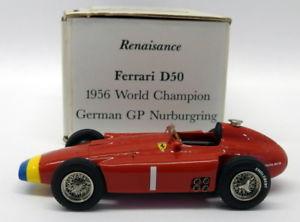 【送料無料】模型車 モデルカー スポーツカースケールキットフェラーリドイツグランプリニュルブルクリンクrenaisance 143 scale kitd50 ferrari d50 1956 german gp nurburgring