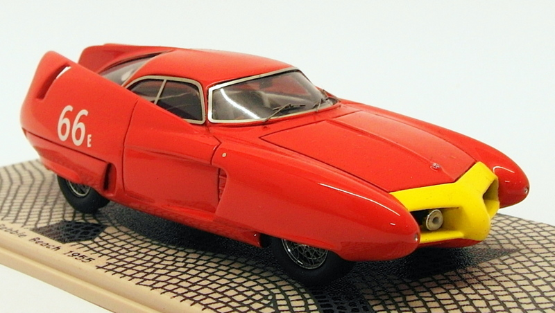 【送料無料】模型車 モデルカー スポーツカースケールモデルカーアルファロメオコウモリブルビーチbizarre 143 scale resin model car bz364 alfa romeo bat 7 pebble beach 1955