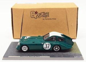 【送料無料】模型車 モデルカー スポーツカースケールモデルカーブリストル#bizarre 143 scale resin model car bz100bristol 450 37 lm 1953
