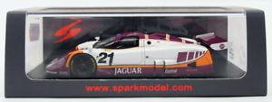 【送料無料】模型車 モデルカー スポーツカースパークモデルスケールジャガー#ルマンspark models 143 scale s4719 jaguar xjr9 21 16th le mans 1988
