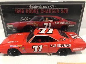 【送料無料】模型車 モデルカー スポーツカー#ボビーアイザックレーシング1969 71 bobby isaac  kamp;k insurance dodge charger 500 university racing