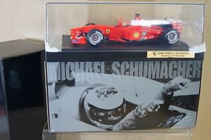 【送料無料】模型車 モデルカー スポーツカーホットホイールフェラーリミハエルシューマッハボックスhot wheels 50930 118 f1 2000 ferrari michael schumacher car 3 boxed nc