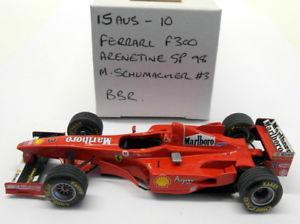 【送料無料】模型車 モデルカー スポーツカースケールキットフェラーリアルゼンチングランプリシューマッハ#bbr 143 scale built kit 15aug10 ferrari f300 argentine gp 98 m schumacher 3