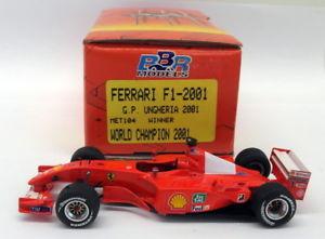 【送料無料】模型車 モデルカー スポーツカースケールキットフェラーリハンガリーシューマッハbbr 143 scale built kit met101 ferrari f1 2001 gp hungary 2001 win schumacher