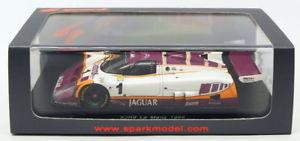 【送料無料】模型車 モデルカー スポーツカースパークモデルスケールジャガー#ルマンブランドルニールセンspark models 143 scale s4717jaguar xjr9 1 le mans 1988s brundlenielsen
