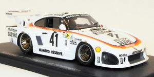 【送料無料】模型車 モデルカー スポーツカースパークスケールモデルカーポルシェ#ルマンspark 143 scale model car 43lm79porsche 935 k3 41 winner le mans 1979