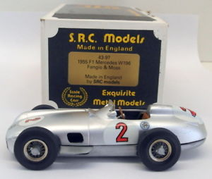 【送料無料】模型車 モデルカー スポーツカーモデルスケールキットメルセデスモス#src models 143 scale built kit 4397 1955 mercedes w196 fangio amp; moss 2