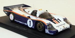 【送料無料】模型車 モデルカー スポーツカースパークスケールモデルカーポルシェ#スチールベルspark 143 scale model car 43lm82porsche 956 1 winner lm 1982steelbell