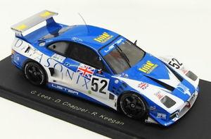 【送料無料】模型車 モデルカー スポーツカースパークスケールモデルカーリスタストーム#ルマンspark 143 scale resin model car s0631lister storm gts 52 le mans 1995
