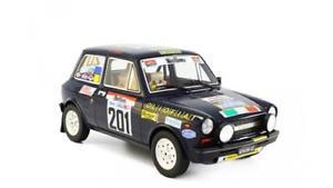【送料無料】模型車 モデルカー スポーツカーアバルトラリーautobianchi a112 abarth rally 100000 trabucchi 1977 laudoracing 118 lrlm 091d