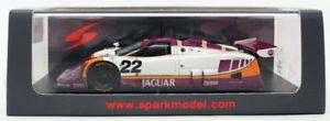 【送料無料】模型車 モデルカー スポーツカースパークモデルスケールジャガー#ルマンspark models 143 scale s4716jaguar xjr9 22 4th le mans 1988