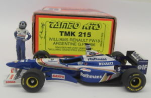【送料無料】模型車 モデルカー スポーツカースケールキットウィリアムズルノーグランプリアルゼンチンtameo 143 scale built kittmk215 williams renault fw18 gp argentina 1996