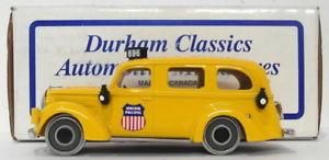 【送料無料】模型車 モデルカー スポーツカーダーラムスケールフォードレールバスdurham 143 scale dc23 1939 ford rail bus union pacific 1 of 250