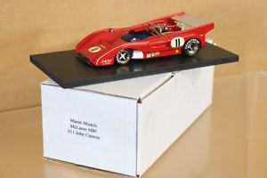 【送料無料】模型車 モデルカー スポーツカーワトキンズグレンマクラーレンmarsh modelli watkins glen 1973 can am mclaren m8f auto 11 cannone