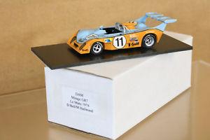 【送料無料】模型車 モデルカー スポーツカーダムルマンミラージュフォードベルdam modelli le mans 1974 mirage gr7 ford auto 11 d bell m hailwood 4th mettere