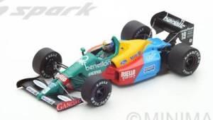 【送料無料】模型車 モデルカー スポーツカースパークモデルベネトンナニーニグランプリjm 2206170 spark model s5201 benetton b188 a nannini 1988 n19 3rd british gp 1