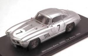 【送料無料】模型車 モデルカー スポーツカースパークモデルメルセデスリタイアプリンスニッヒjm 2196585 spark model s4410 mercedes 300sl n7 dnf lm 1956 prince p metternich
