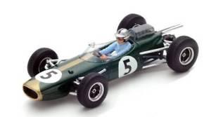 【送料無料】模型車 モデルカー スポーツカースパークモデルブラバムブラバムモナコグランプリjm 2238951 spark model s5251 brabham bt7 j brabham 1964 n5 retired monaco gp 1