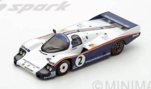 【送料無料】模型車 モデルカー スポーツカースパークモデルポルシェリタイアjm 2202105 spark model s5504 porsche 956 n2 dnf lm 1983 j masss bellof 143