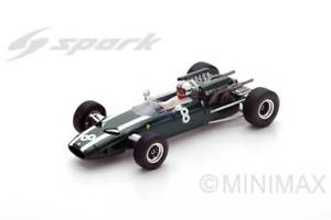 【送料無料】模型車 モデルカー スポーツカースパークモデルクーパークリスアモンフランスグランプリjm 2202103 spark model s5290 cooper t81 chris amon 1966 n8 7th french gp 143 m