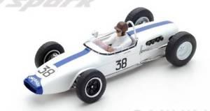 【送料無料】模型車 モデルカー スポーツカースパークモデルロータスイアンバージェスフランスグランプリjm 2197911 spark model s5343 lotus 18 ian burgess 1961 n38 14th french gp 143