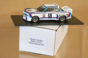 【送料無料】模型車 モデルカー スポーツカームラージュデイトナprovenza moulage daytona 1976 1st lugar bmw 35csl coche 59 gregg redmann ng