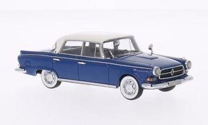 【送料無料】模型車 モデルカー スポーツカーネオスケールモデルネオモデルjm2139048neo scale models neo49532 borgward p100 bluewhite 143 model