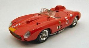 【送料無料】模型車 モデルカー スポーツカーアートモデルフェラーリニュルブルクリンクコリンズjm2119214art model am0134 ferrari 315 s n5 2nd nurburgring 1957 collinsgendebi