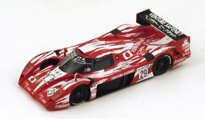 【送料無料】模型車 モデルカー スポーツカースパークモデルトヨタグアテマラリタイアjm 2141270 spark model s2387 toyota ts20 gt one n29 dnf lm 1998 boutsenkelle