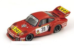 【送料無料】模型車 モデルカー スポーツカースパークモデルポルシェリタイアシェンゲンjm 2140590 spark model s4428 porsche 935 n38 dnf lm 1977 schengenhezemansheye
