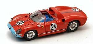 【送料無料】模型車 モデルカー スポーツカーアートモデルフェラーリリタイヤセブリングヒルjm2119255art model am0185 ferrari 330 p n24 dnf sebring 1964 hillels 143