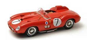 【送料無料】模型車 モデルカー スポーツカーアートモデルフェラーリホーソンムッソjm2132126art model am0184 ferrari 315 s n7 44th lm 1957 hawthornmusso 143 mod