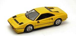 【送料無料】模型車 モデルカー スポーツカーベストモデルフェラーリターボイエローモデルjm 2119803 best model bt9332 ferrari 208 gtb turbo 1982 yellow 143 model