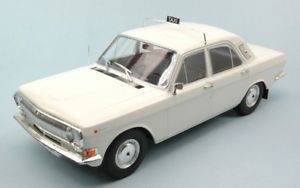 【送料無料】模型車 モデルカー スポーツカーボルガタクシーモデルjm2144244mac two m24 19671992 mcg18017 volga taxi white 118 model