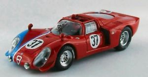 【送料無料】模型車 モデルカー スポーツカーベストモデルアルファロメオテストルマンjm 2135034 best model bt9551 alfa romeo 332 n37 test le mans 1968 gosselintro