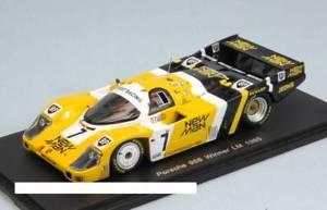 【送料無料】模型車 モデルカー スポーツカースパークモデルポルシェjm 2137871 spark model s43lm85 porsche 956 n7 winner lm 1985 ludwigbarillawin