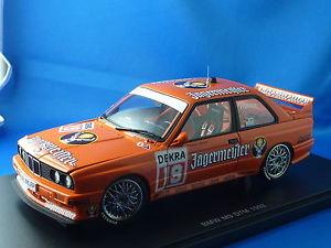 【送料無料】模型車 モデルカー スポーツカースポーツエボリューションイェーガーマイスタースタート118 bmw m3 sport evolution, dtm 1992 jgermeister, start no 19